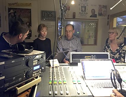 Radiodebatt Sandudden med Lena Gerby (m)