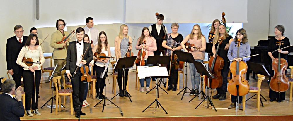 30-årsjubileum för kammarorkestern