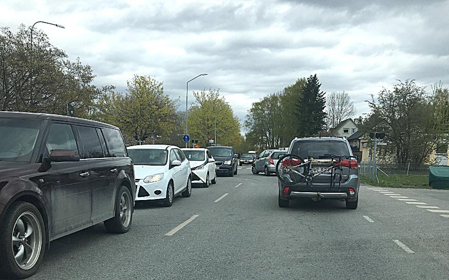 Trafik-, lokal- och motionsspårsfrågor