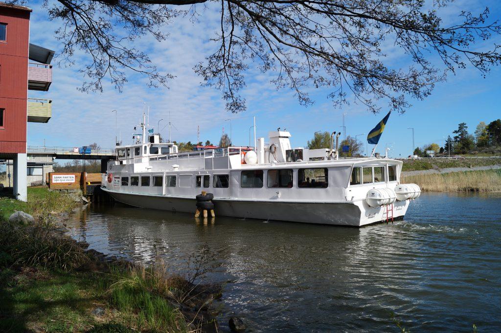 Frågor om pendelbåtens turer