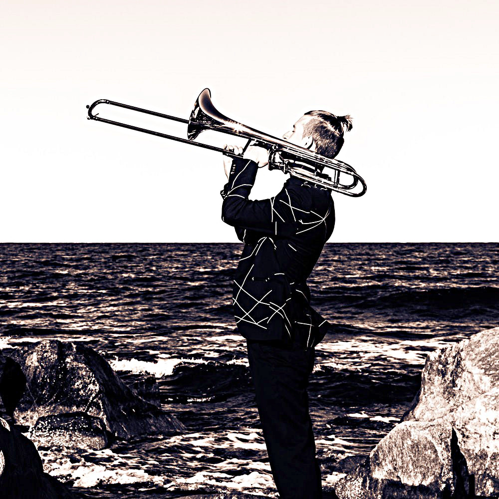 Berömd trombonsolist i Skå kyrka