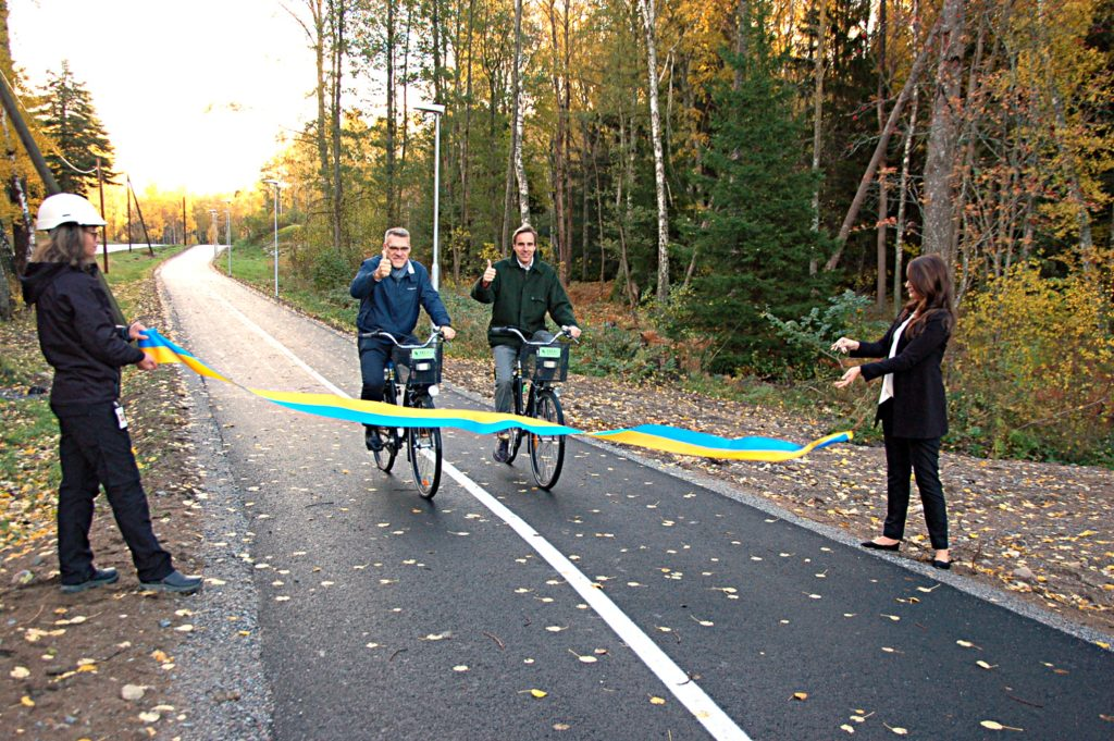 Cykelvägsnätet växer fram