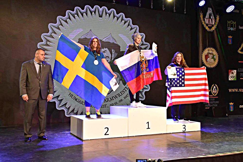 VM-silver till Ulrica Seijbold