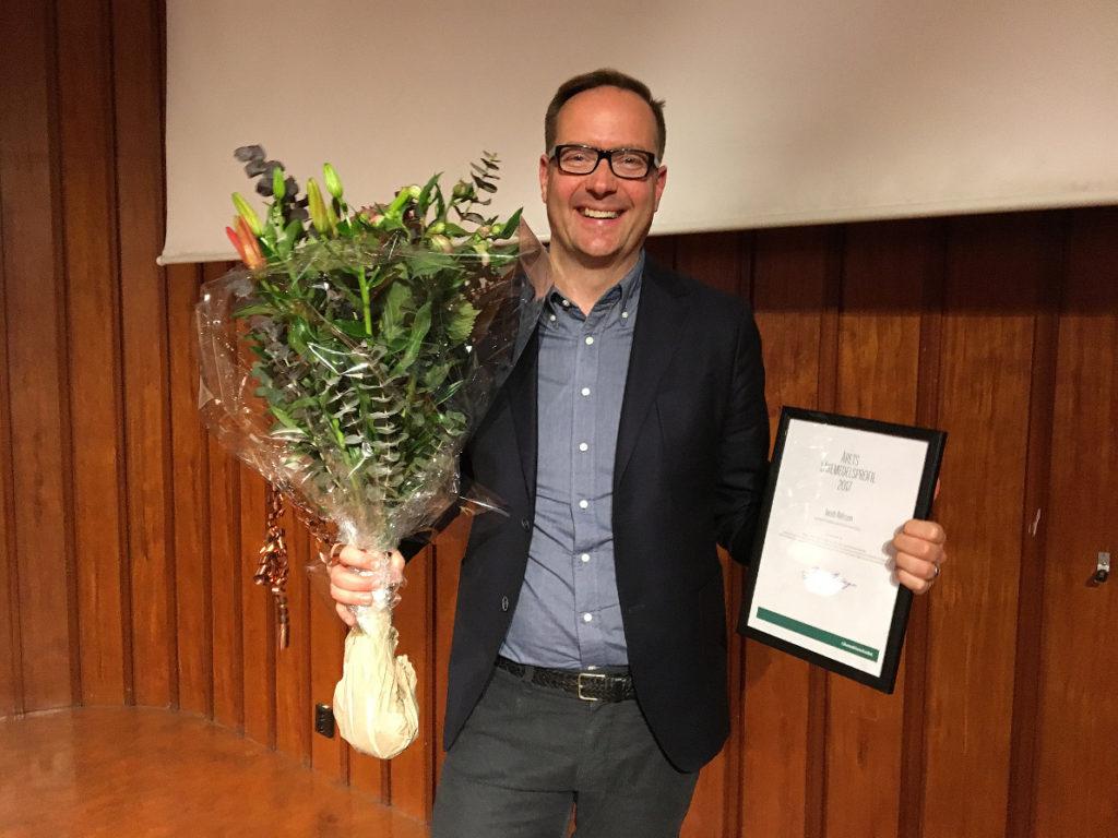 """Ekeröbo blev """"Årets läkemedelsprofil"""""""