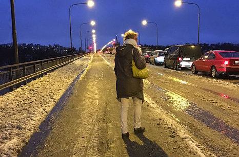 Nockebybron fastnade två gånger på en vecka