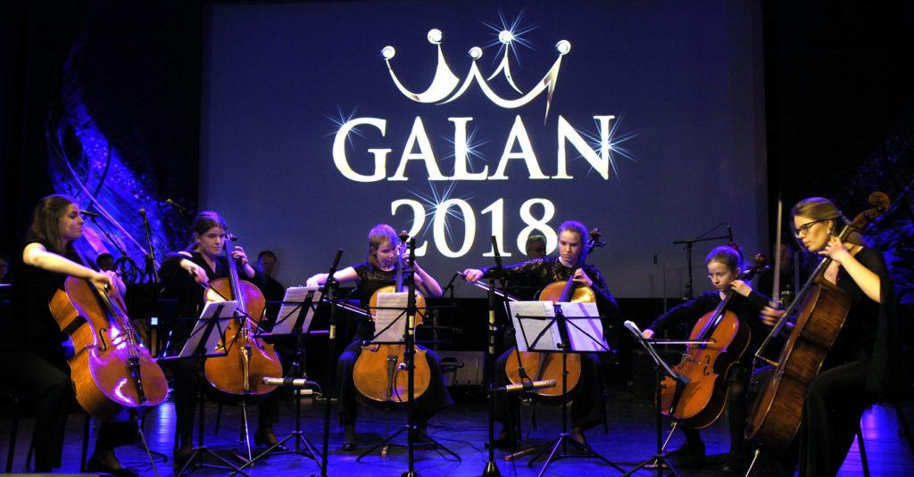 Stor fest på årets gala