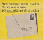 Postnummer på alla brev