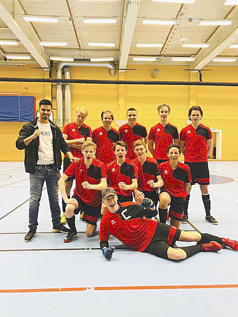 """""""Tappen"""" blev skol-DM-mästare i Futsal"""