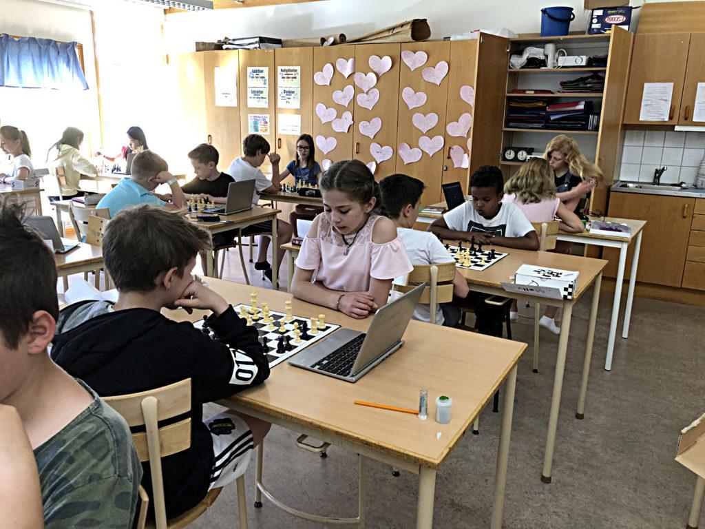 Ekebyhovsskolan till final i Schackfyran