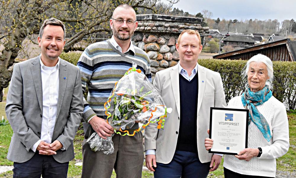EBO-grupp fick pris
