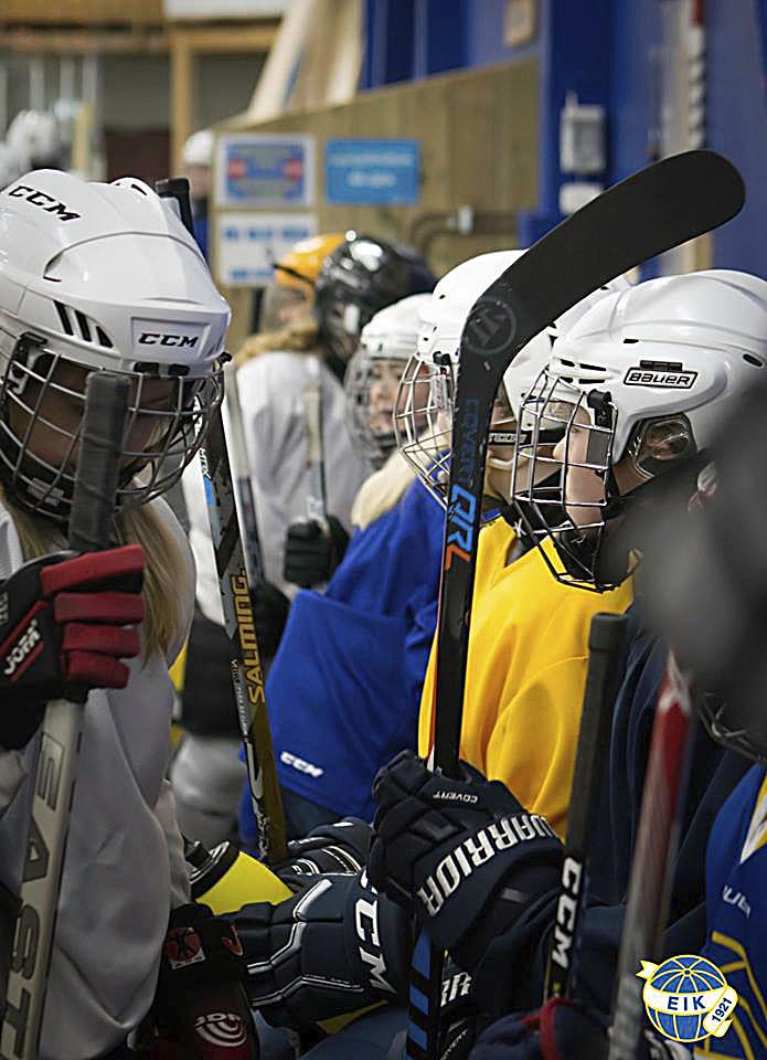 Tjejhockeyn växer sakta men säkert