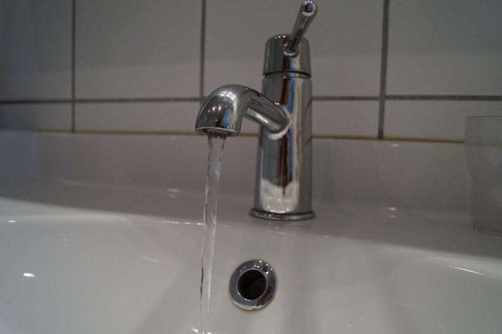 Var sparsam med vattnet