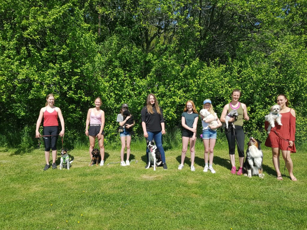 Nytändning för hundungdomar