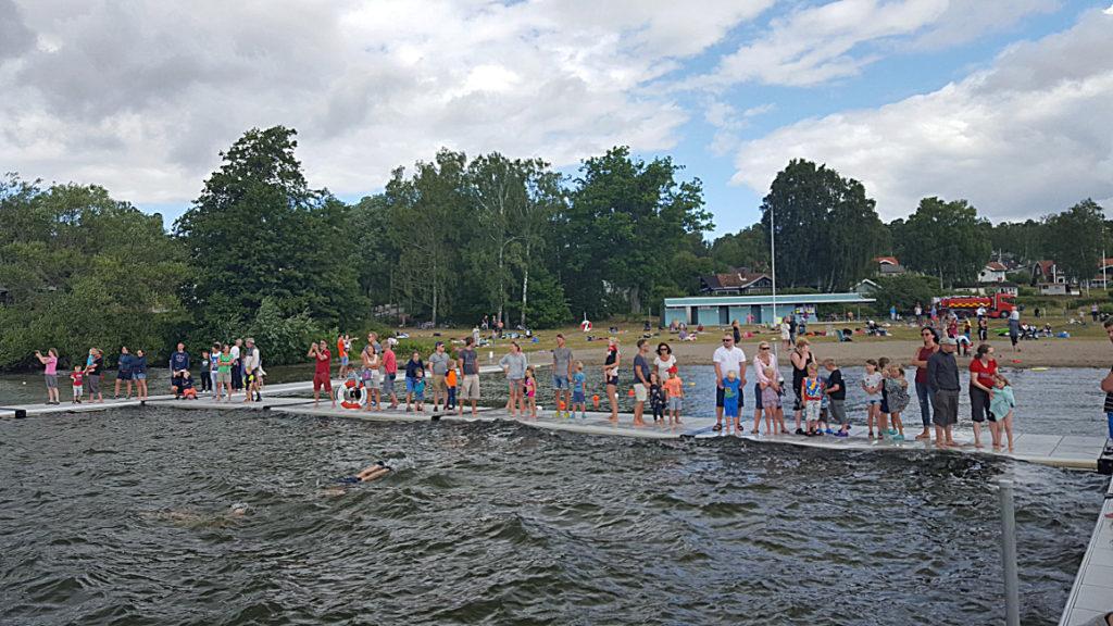 Nyheter från årets simskola