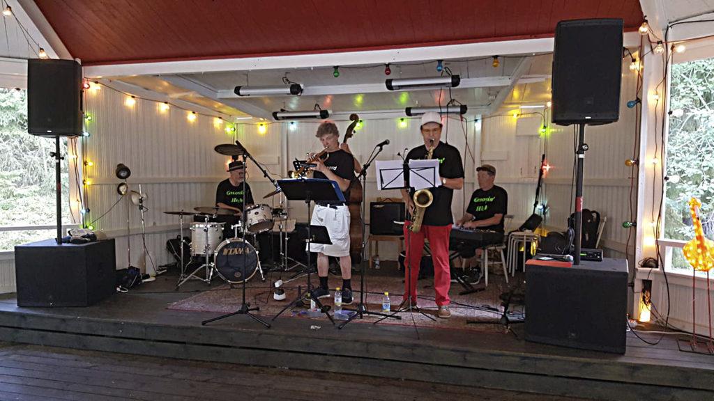 Skå festplats bjuder på jazz