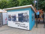 Sabotage och klagomål kring affischering