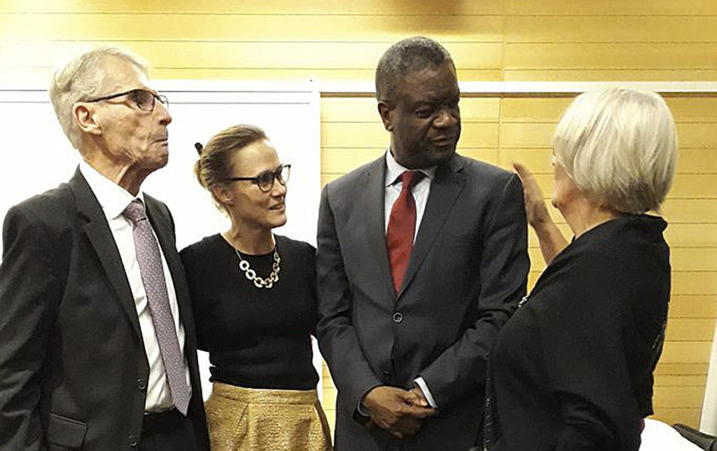 Nära samarbete med Dr. Mukwege