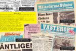 Mälaröarnas nyheter 70 år