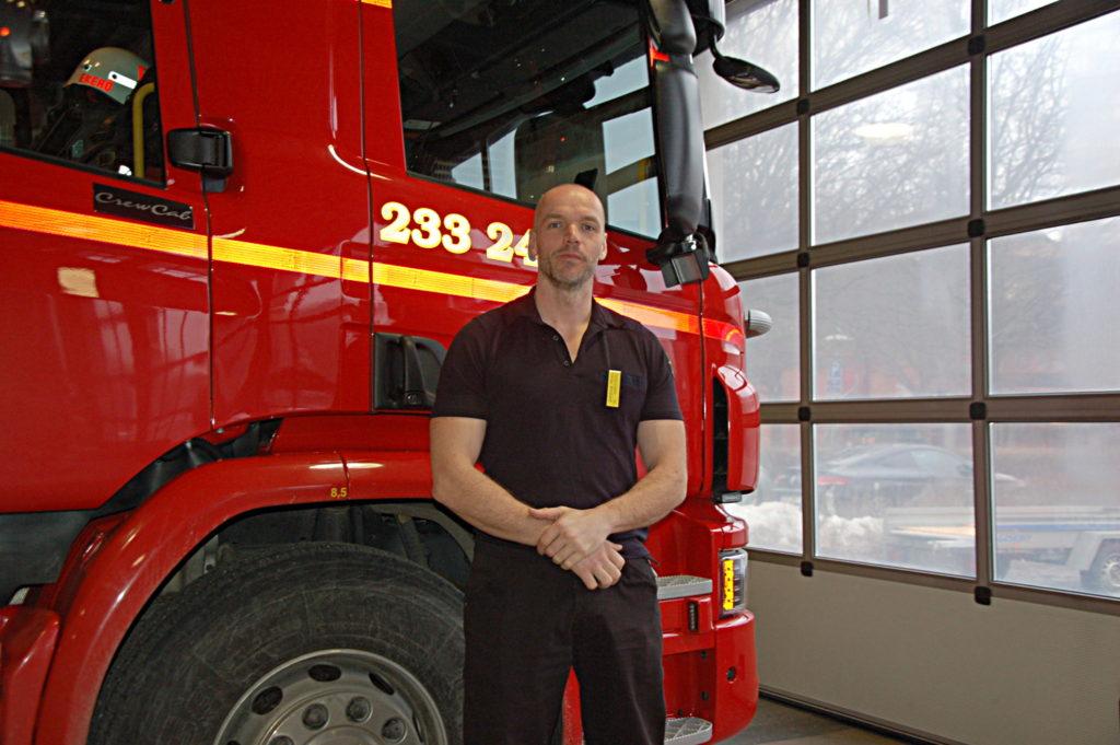 Falska brandmän visade sig vara äkta