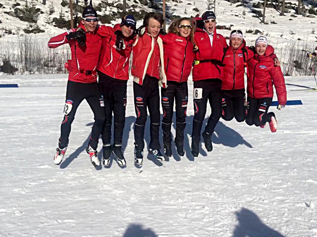 SM-brons i skidskytte