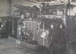 """""""Modern"""" brandbil och breddning av väg"""