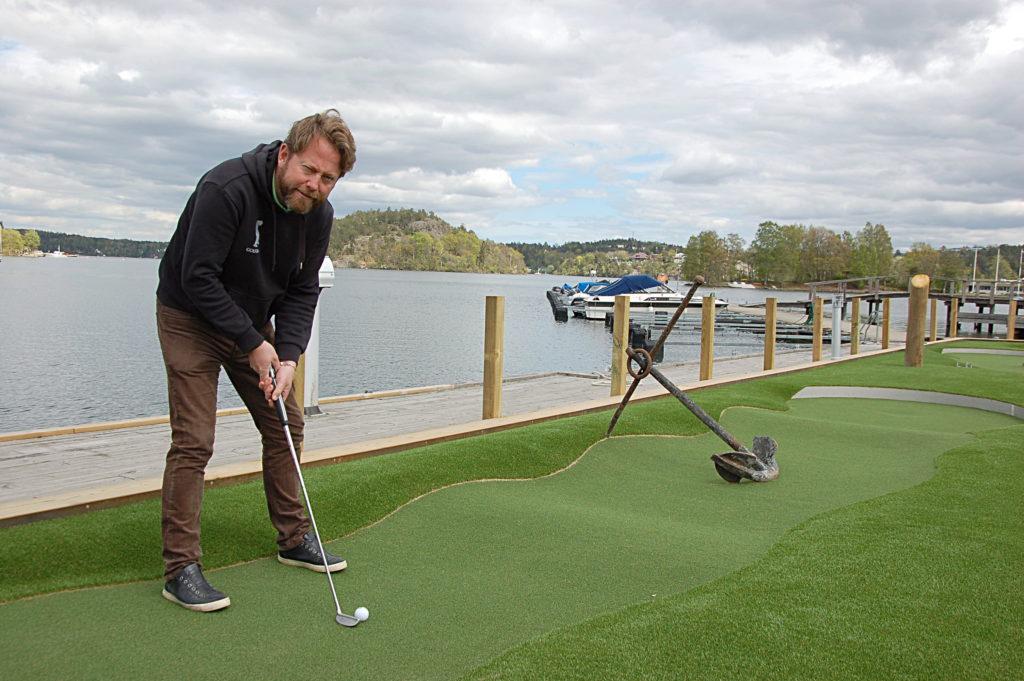 Golfbaren öppnar i Jungfrusund