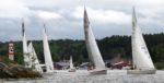 35 båtar deltog i Jungfrusundsregattan