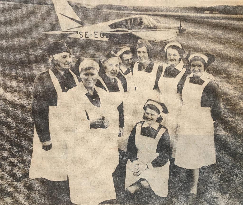 Flygaktiviteter på Skå Edeby flygfält