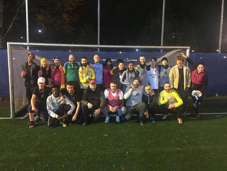 """""""Gatans lag"""" prisat på fotbollsgalan"""