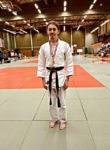 Gabriel tog guld i judo