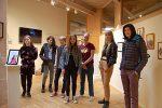 Unga konstnärer i Utkiken