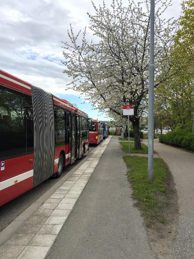 På gång i kollektivtrafiken