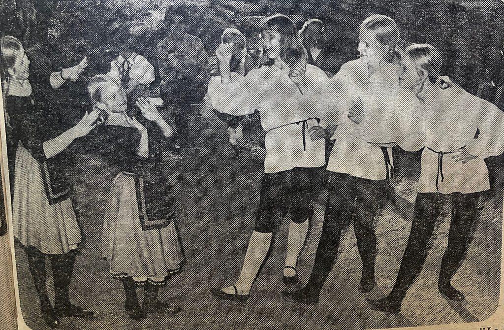 Lyckad sommarmarknad 1970