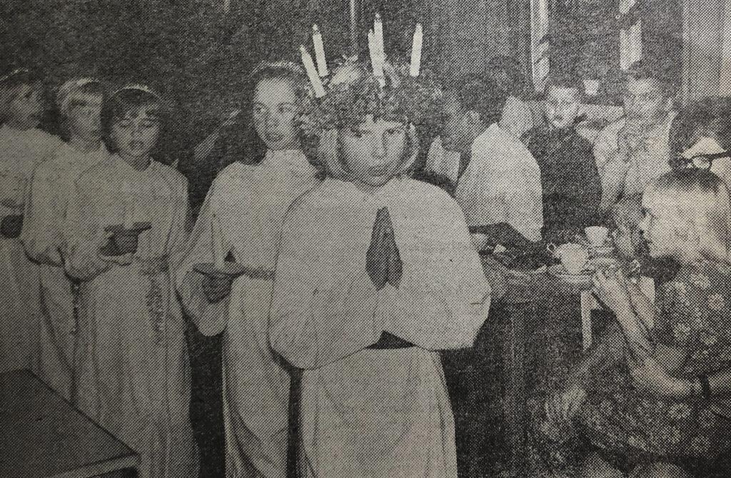 Lucior och julklappstips 1970