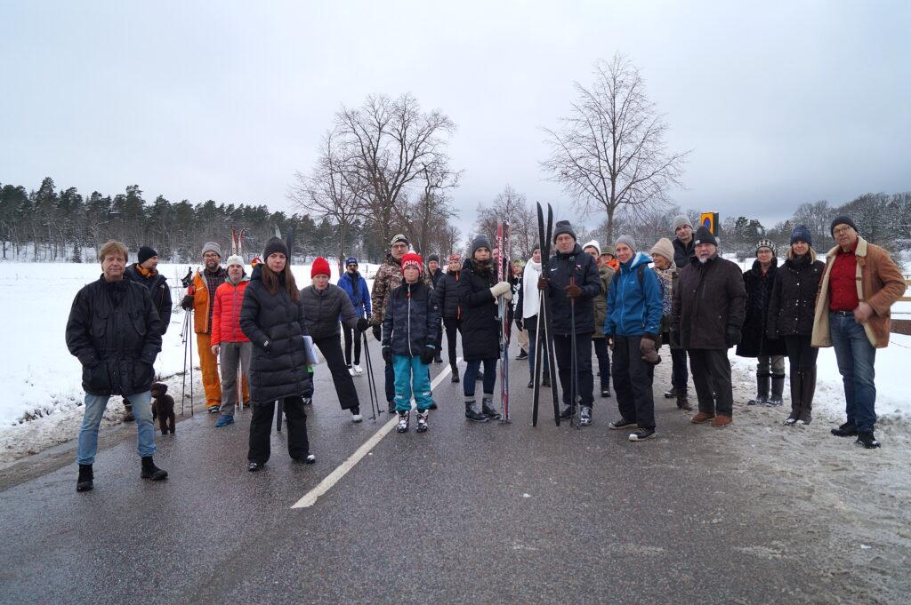 Starka protester mot vägavstängning