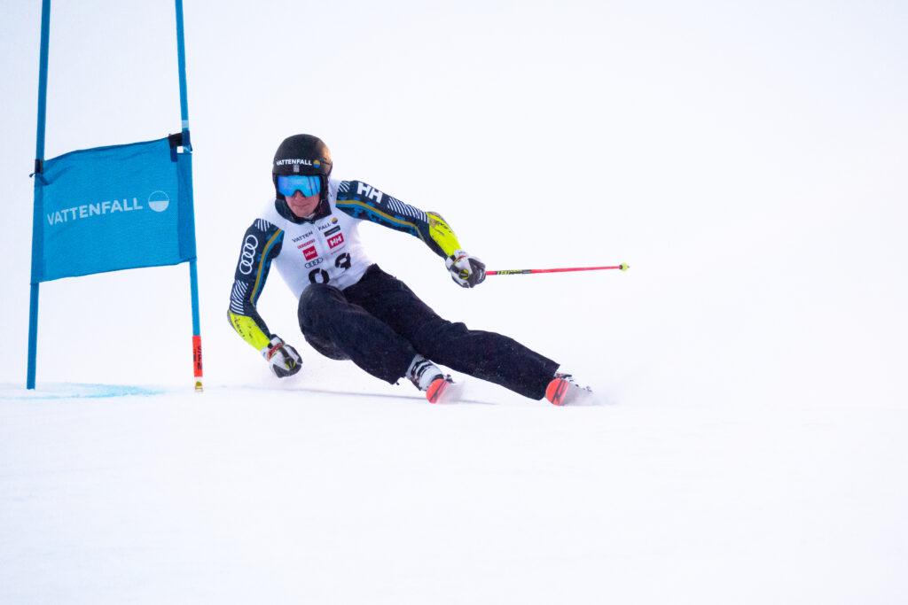 William uttagen till alpina VM-truppen