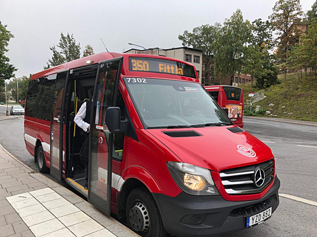 Busslinje 350 upphör i mars