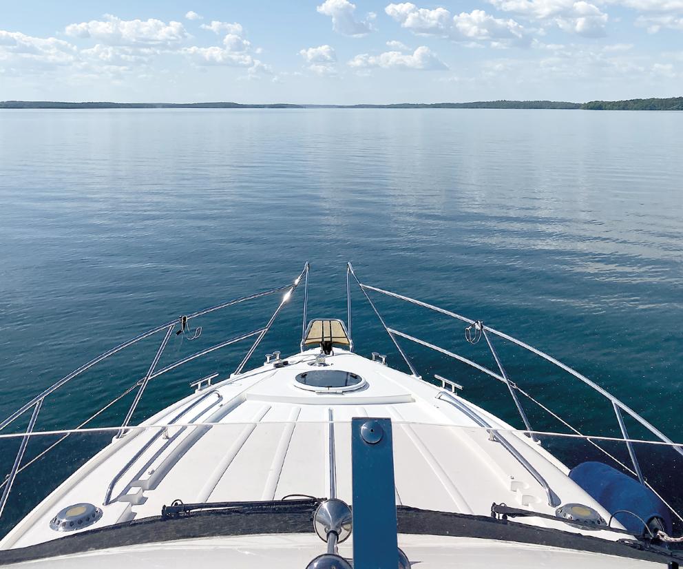 Fler vill semestra på sjön