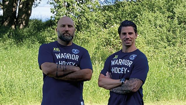 Nytt tränarpar i Mälarö hockey